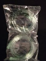 Lot Of 5 Inhalation Plastics Oxygen Inhaler Tube Plastic 72' Long