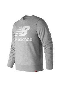 Grigio Pz Esse Uomo New Crew Balance Logo Mt91548 Girocollo qnwTqURx47