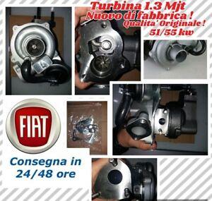 TURBINA-FIAT-1-3-MJT-MULTIJET-DA-51-E-55-KW-PUNTO-PANDA-IDEA-YPSILON-ECC