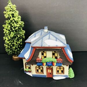 Dept-56-Heritage-Collection-Alpine-Village-Bakery-Chocolate-Shop-Tree-Vintage