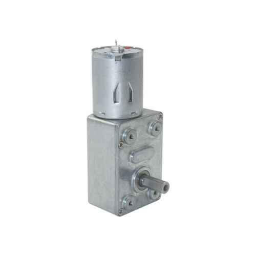 DC 6V-24V Mini Micro Small Electric Worm Gear Motor Metal Gearbox Large Torque