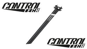 Control Tech Sattelstütze 30,9 mm SB02 Bolts 400mm Länge Dekor schwarz mit weiss