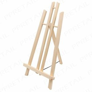 Image Is Loading 50cm Quality Pine Wood TABLE TOP EASEL Painting