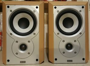 Image Is Loading MISSION For DENON SC M201 BOOKSHELF SPEAKERS 20