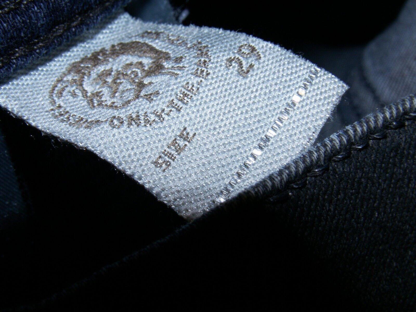 DIESEL Tepphar Slim-Carota Fit Coated Jeans 084BF Stretch Stretch Stretch W29 L32 (5083) ef9a4a