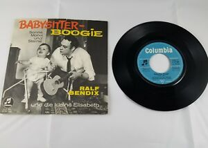 Vintage-Collectible-45RPM-Record-Ralf-Bendix-Babysitter-Boogie-Sonne-Mond-Sterne