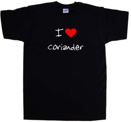 I Love Heart Coriander T-Shirt