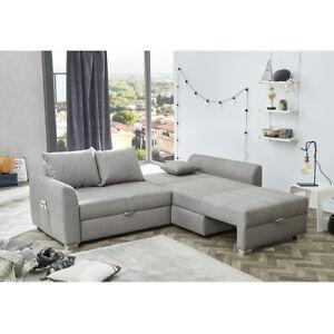 Wohnlandschaft Boomer Ecksofa Sofa Polstermobel In Grau Mit