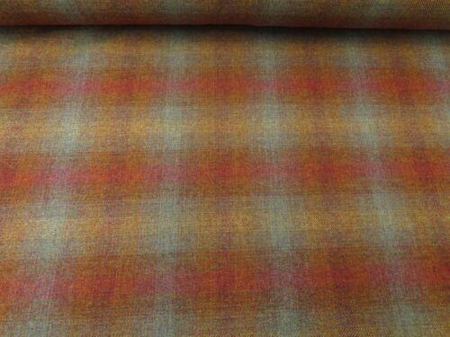100/% Tela De Lana Shetland Británica-Calidad Superior Tartán mobiliario abrigos Crafts