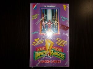 1994-Collect-A-Card-Mighty-Morphin-Power-Rangers-Series-1-Hobby-Box-36-Packs