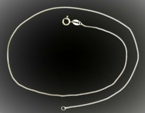 Venezianerkette Kette Sterling Silber 925 1 mm in 37 cm 40 cm 42 cm 45 cm 50 cm