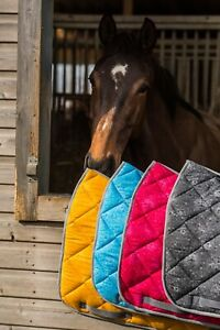 Dark-Horse-Equestrian-Floral-Print-Saddle-Pad-GP-Dressage-UK-Brand