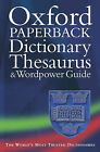 Oxford Paperback Dictionary, Thesaurus and Wordpower Guide by Oxford University Press (Paperback, 2001)