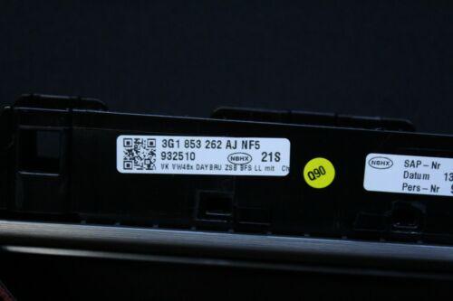 VW Passat 3G B8 Armaturenbrett Alu Dekorleiste Zierleiste 3G1853262AJ NF5
