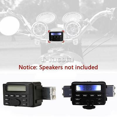 Motorcycle Waterproof Audio Radio FM MP3 Sound Head Unit for Honda Goldwing