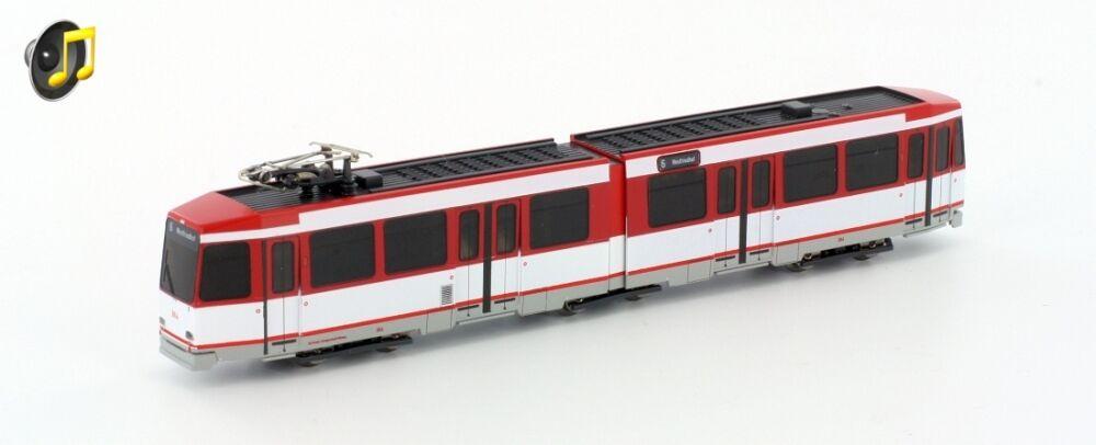 Hobbytrain h14903-s Tram Düwag n6 Nuremberg Verkehrsbetriebe ep4-5 Sound