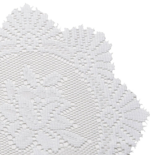 """Traditional Floral Lace Doilies Pack of 6 Doyleys Vintage Home Table Mat 8/"""" 12/"""""""