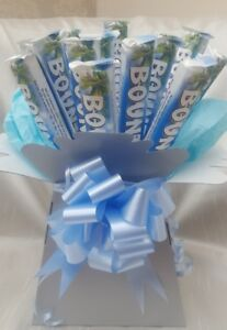 Image is loading Chocolate-Bouquet-Bounty-Ideal-Birthdays-Sweet-Gift-hamper