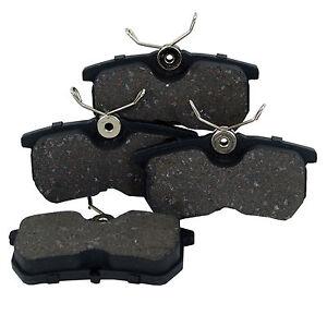 4x bremsbel ge bremskl tze bremsbelagsatz hinten ford. Black Bedroom Furniture Sets. Home Design Ideas