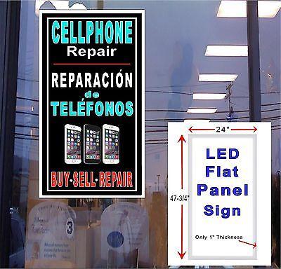 Poster Sign Advertising 24X36 Spanish Cellphone repair