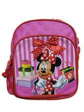 "A01773 Minnie Mouse Mini Backpack 10"" x 8"""