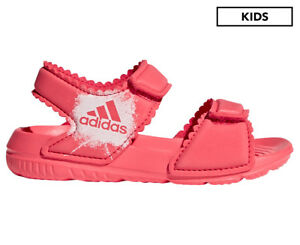 3a938550b6b7 Image is loading Adidas-Infant-Girls-039-AltaSwim-Sandal-Core-Pink-