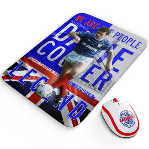Cooper Glasgow Mouse Mat Pad Work Computer Gaming Football Legend Gift LG20