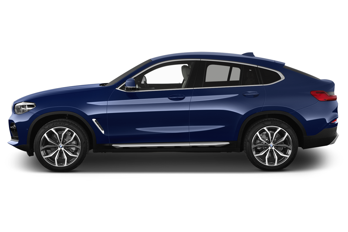 BMW X4 side view