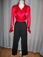 Milly Black Tailored Runway Chic Must Have Pants 6 $230 Gorgeous