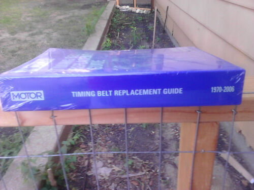 1970-2006 free Shipping Motor Timing Belt Replacement Guide