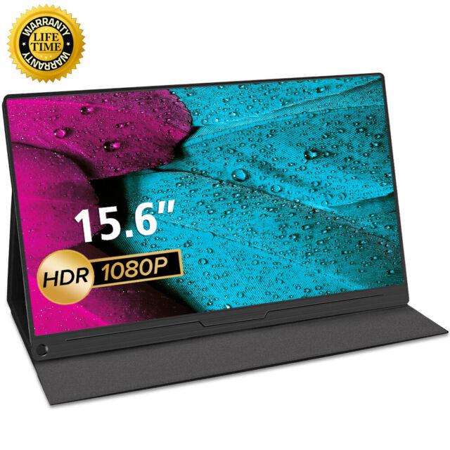 "15.6"" Portable Display 1920x1080 Monitor HD USB-C For Raspberry Pi 3 4 Xbox360"