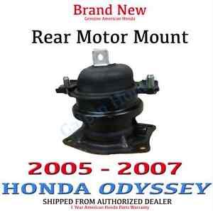 Genuine oem honda odyssey rear motor mount 2005 2007 exl trng 50810 shj 305 ebay Honda odyssey rear motor mount