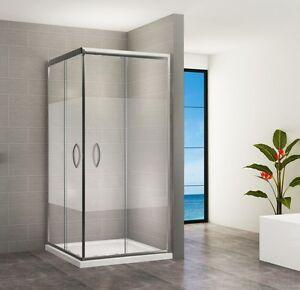 duschkabine duschabtrennung dusche schiebet r eckeinstieg 195cm cd666 satiniert ebay. Black Bedroom Furniture Sets. Home Design Ideas