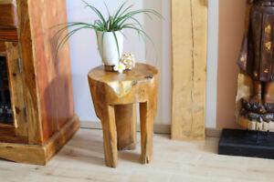 Tavolo in legno tavolino legno comodino sgabello legno teak