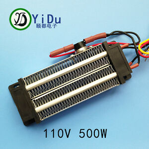 Details about PTC heating element heater heater ceramic Thermostatic 500W  110V