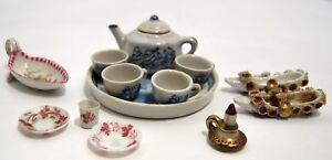 Lote-5-Objetos-Vitrina-Miniaturas-Porcelana-Vaso-Soplado-Sevres-Paris-S-XIX-Xx