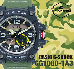 Casio-G-Shock-Mudmaster-Series-Twin-Sensor-Watch-GG1000-1A3-AU-FAST-amp-FREE