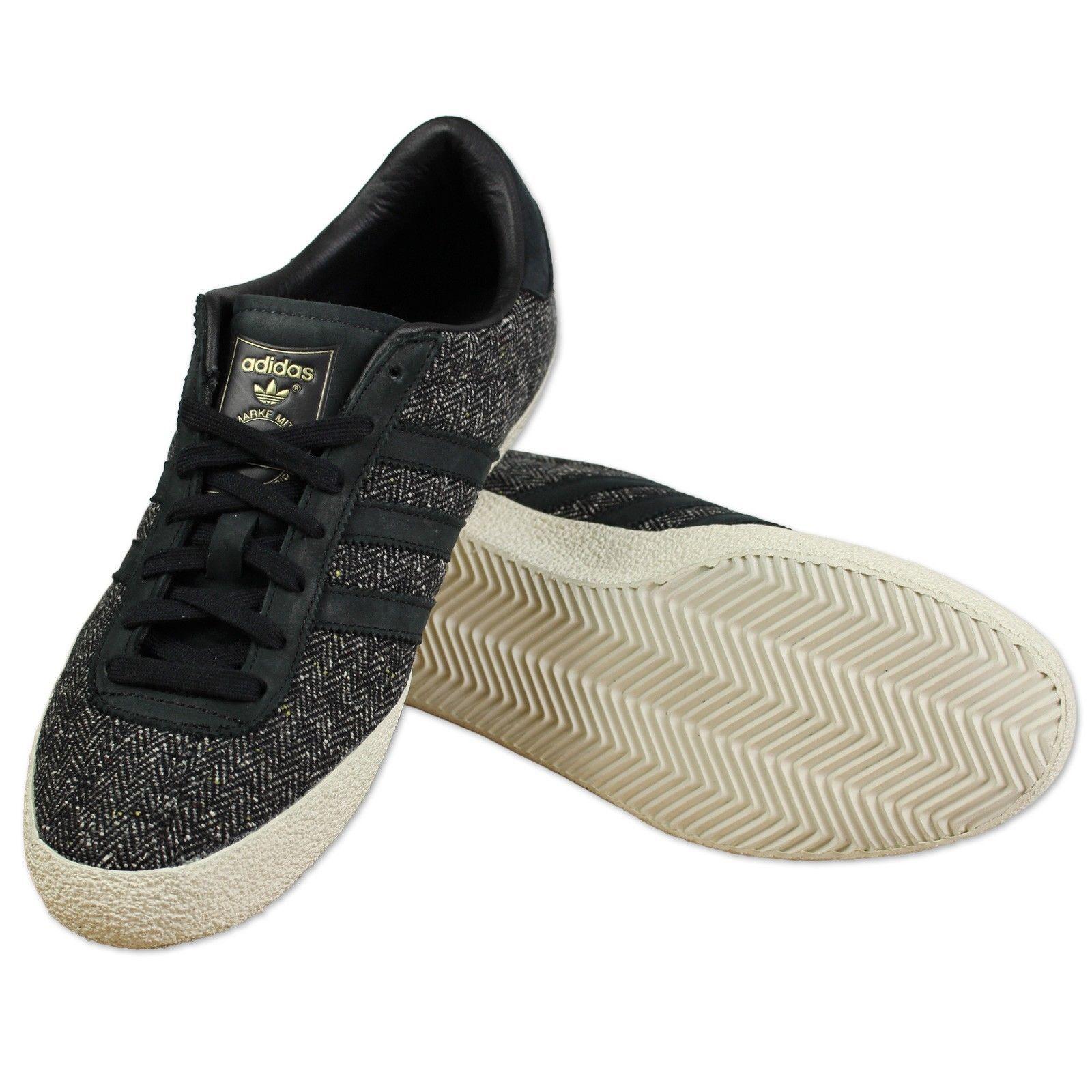 adidas gazelle 70er - originale turnschuhe neue männer - 70er größe 8 schwarz / weiß b5f33a