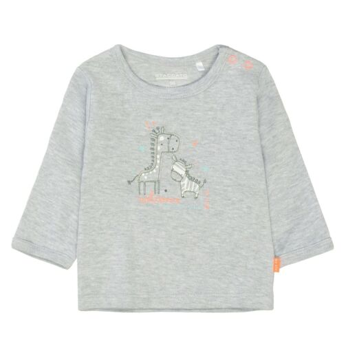 Grey Melange Staccato ORGANIC COTTON Shirt