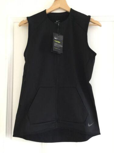 Ladies NIKE THERMA Lightweight Gilet  Size XS in Black