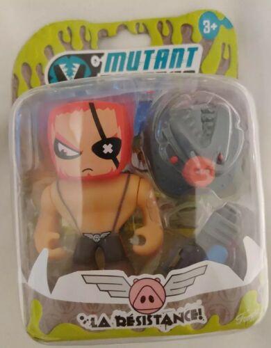 Action Figure La Resistance Mutant Busters toy # RR 336044L- 2 Famosa .