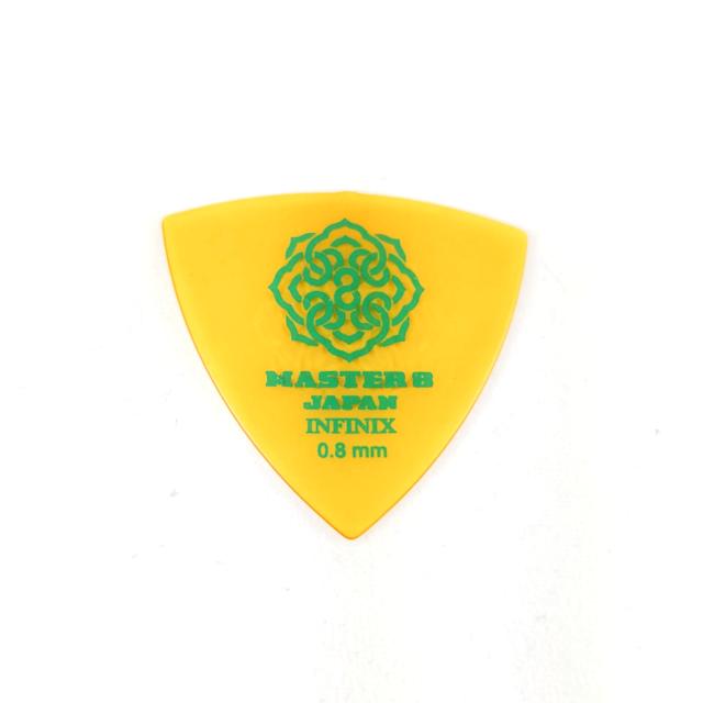 .88mm Thin 6-Pack Master 8 Japan INFINIX-U Grip Guitar Jazz XL Pick