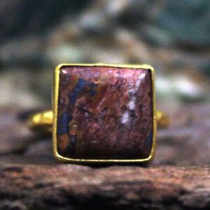 Roemische-Kunst-Handarbeit-Agate-Ring-925k-Sterling-Silber-Tuerkisches-Designer-Edelstein