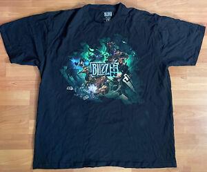 Blizzcon 2015 Size XXL Blizzard Entertainment Black T Shirt video game tee