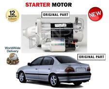 FOR TOYOTA AVENSIS 1.6 1.8 VVTi 2000-2003 NEW ORIGINAL STARTER MOTOR 2810022030