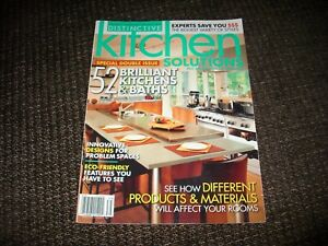 Image Is Loading COUNTRY COLLECTIBLES PRESENTS DISTINCTIVE KITCHENS  SOLUTION MAGAZINE 2007