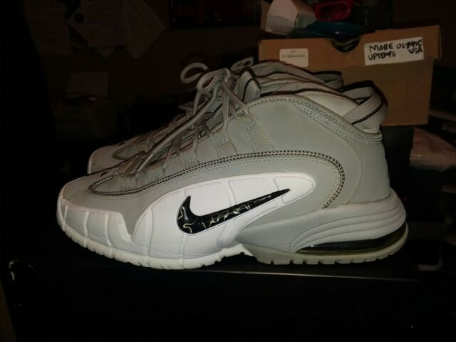 buy popular 958a0 59fe8 Nike Air Max PENNY 1 WOLF GREY BLACK WHITE 311089-003 Size 11 2011  FOAMPOSITE