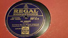 MAISIE RINGHAM THE CONQUEST  REGAL ZONOPHONE MF313