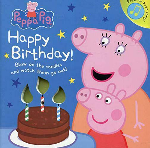 Peppa Pig: Happy Birthday! by Peppa Pig, NEW Book, FREE & Fast Delivery, (Board
