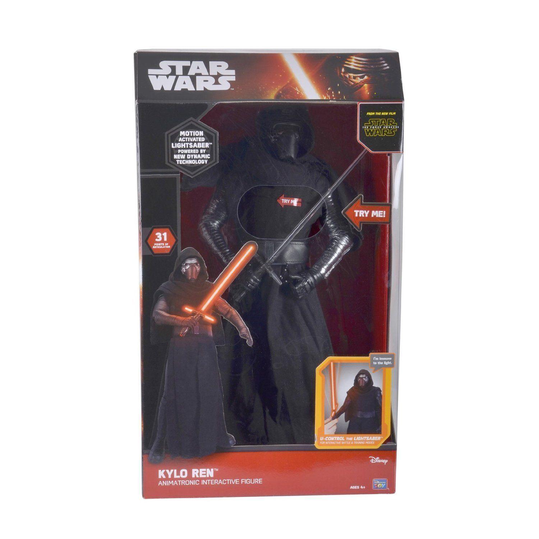 Star Wars Animatronic Interactive 17  Figure Kylo Ren Deluxe Collectors Edition